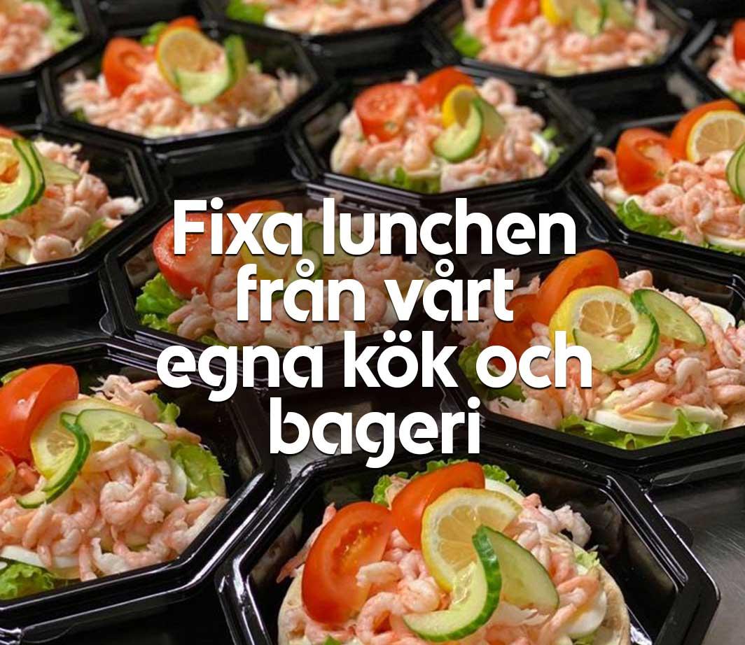 Lunch från vårt kök och bageri